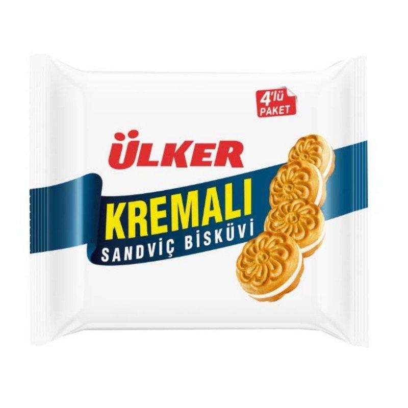 Ülker Kremalı Sandviç Bisküvi 76 gr 4'lü